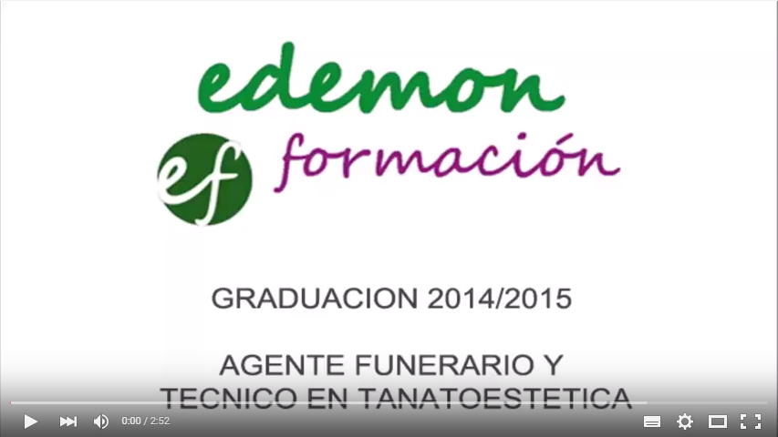 video de graduación 2015 tanatoestetica